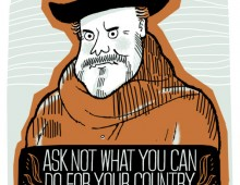 Orson Welles Quote – Screenprint