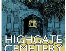 Highgate Cemetery West – Screenprint