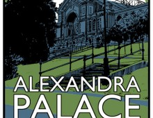 Visit Alexandra Palace – Screenprint