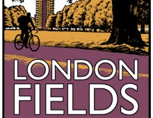 Visit London Fields – Screenprint