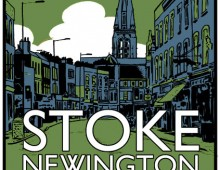 Visit Stoke Newington – Screenprint