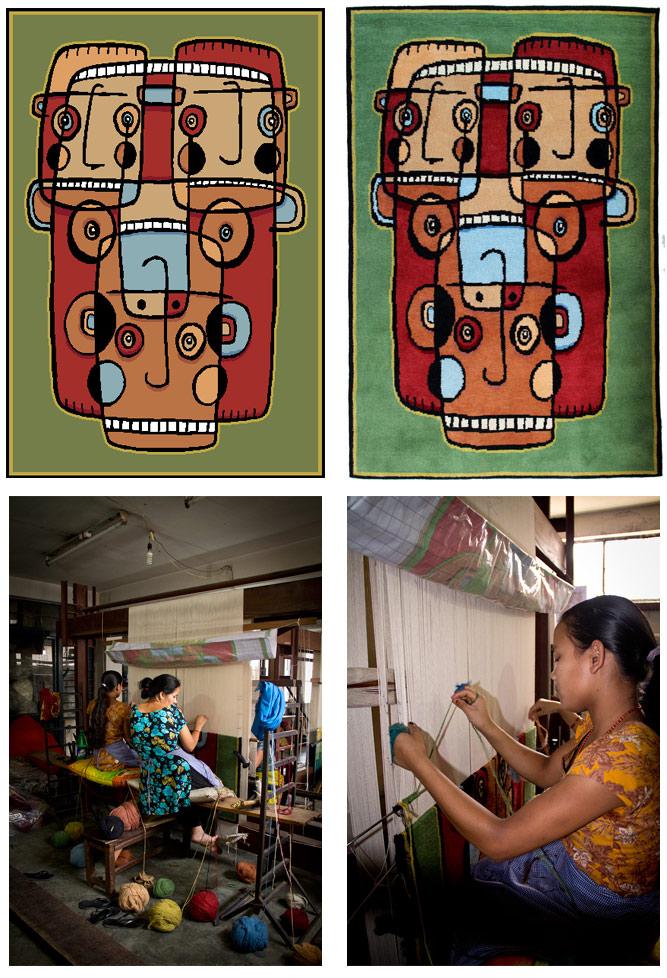 Fair trade rug design - Node