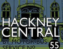 Visit Hackney Central – Screenprint