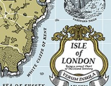 """The Isle of London"" Map – Screenprint"